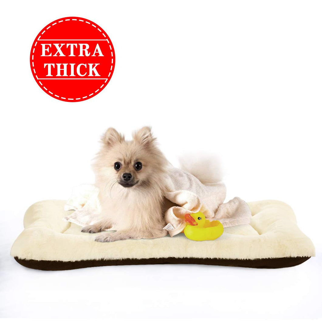 PETSGO Extra Thick Soft Warm Crate Mats