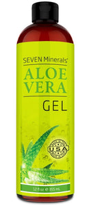 Organic Aloe Vera Gel with 100% Pure Aloe