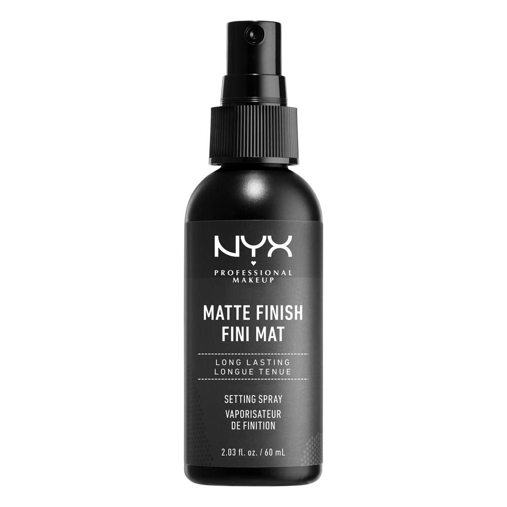 NYX PROFESSIONAL MAKEUP Makeup Setting Spray, Matte Finish, 2.03 Fl Oz (Pack of 1)