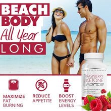 Load image into Gallery viewer, Raspberry Ketone Force - Natural Weight Loss Pills - Burn Fat