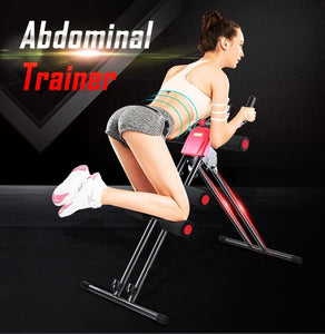 OneTwoFit Adjustable AB Abdominal Trainer Waist Trimmer Shaper Fitness Core Toner Body Exercise Machine max 220lbs