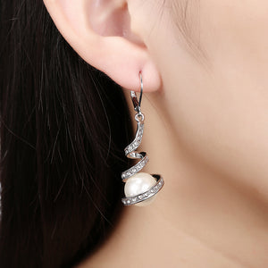 E012 Wholesale Nickle Free Antiallergic 18K Real Gold Plated Earrings For Women New Fashion Jewelry