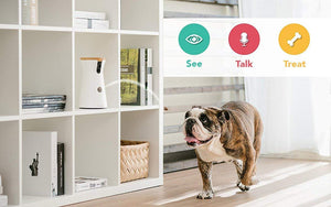 Furbo Dog Camera: Treat Tossing, Full HD Wifi Pet Camera and 2-Way Audio,