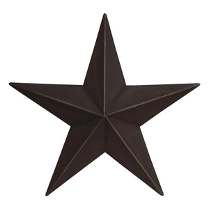 Metal Barn Star Primitive Tin Black, Red, Ivory, or Colonial