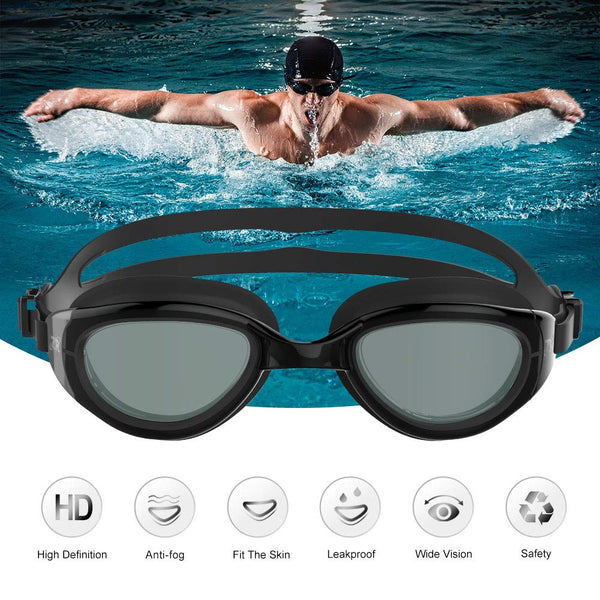 Zionor Swimming Goggles, G6 Non Polarized Swim Goggles UV Protection