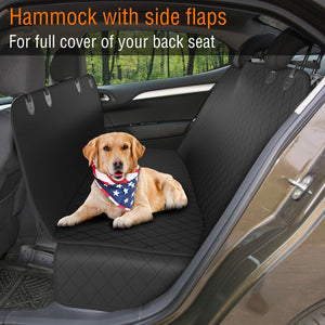 Dog Back Seat Cover Protector Waterproof Scratchproof