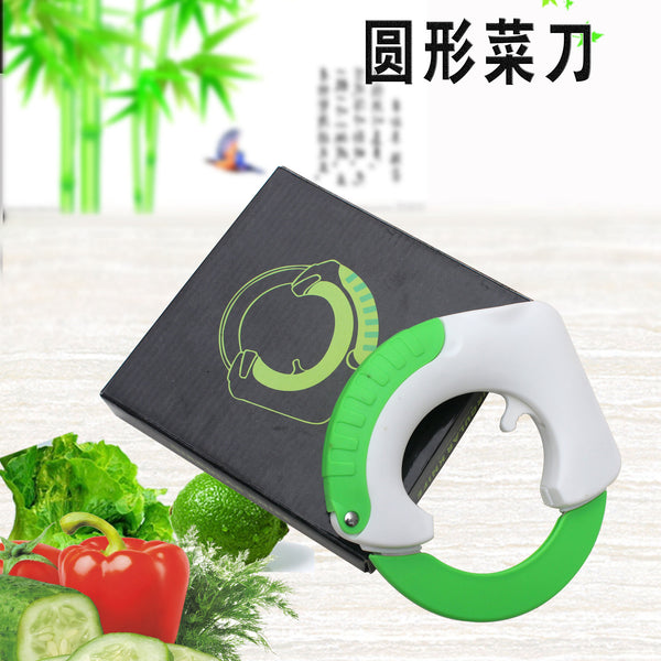 Rolling Knife Circular Kitchen Cutter Pizza Wheel Knife Pastry Cutter Vegetable Chop