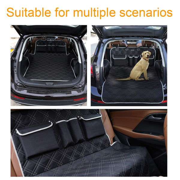 BRONZEMAN Pet Cargo Cover Liner for SUV and Car,