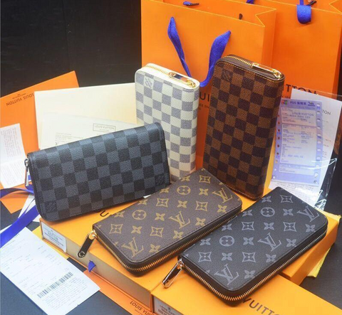 Wholesale lady long wallet multicolor designers LOUIS VUITTON