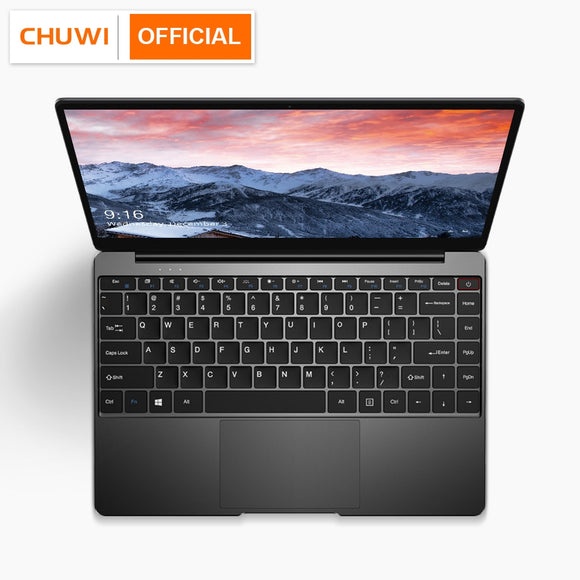 CHUWI AeroBook 13.3 Inch Intel Core M3 6Y30 Windows 10 8GB RAM 256GB SSD Laptop with Backlit Keyboard Metal Cover Notebook|Laptops|