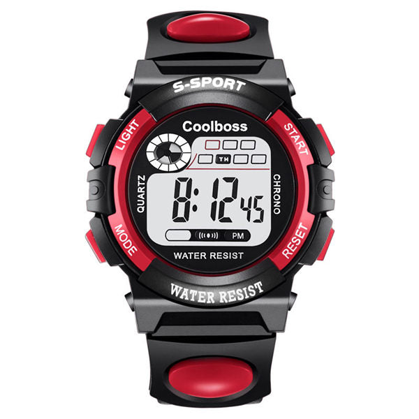 Sport Kids Watches Silicone Strap Waterproof LED Digital