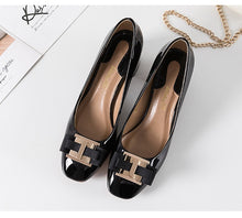 Load image into Gallery viewer, High Heel Designer Brand Chunky Heels Shoes