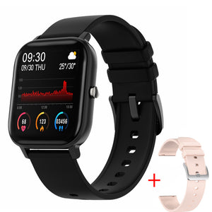 Full Touch Fitness Tracker Heart Rate Monitoring Sports Watches