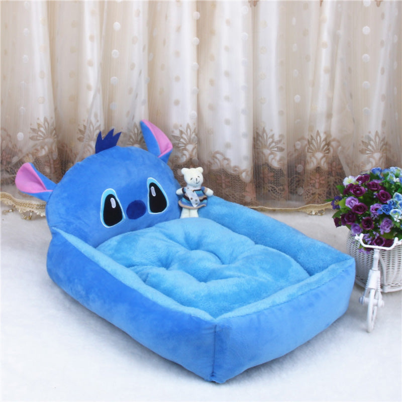 Cute Pet Dog Bed Mat Animal Cartoon Shaped for Large Dogs Pet Lounger