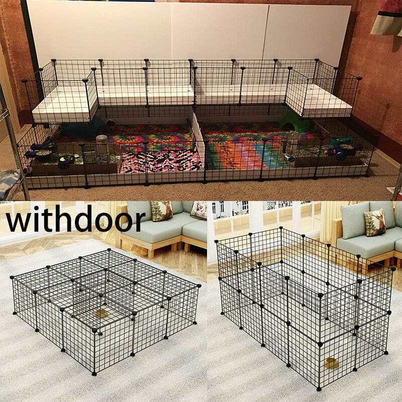 Pet House Foldable Pet Playpen Iron Fence