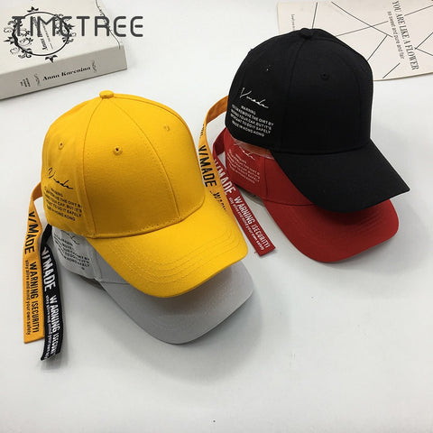 Fashion Adjustable Cotton Baseball Caps Men / Women Snapback Hats