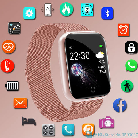 Fashion Stainless Steel Smart Watch