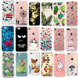 Cute Minnie Silicone Phone Cover Case For iphone