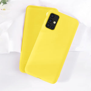 Case Cover Ultra-thin Liquid TPU Silicone Phone Case For Samsung Galaxy