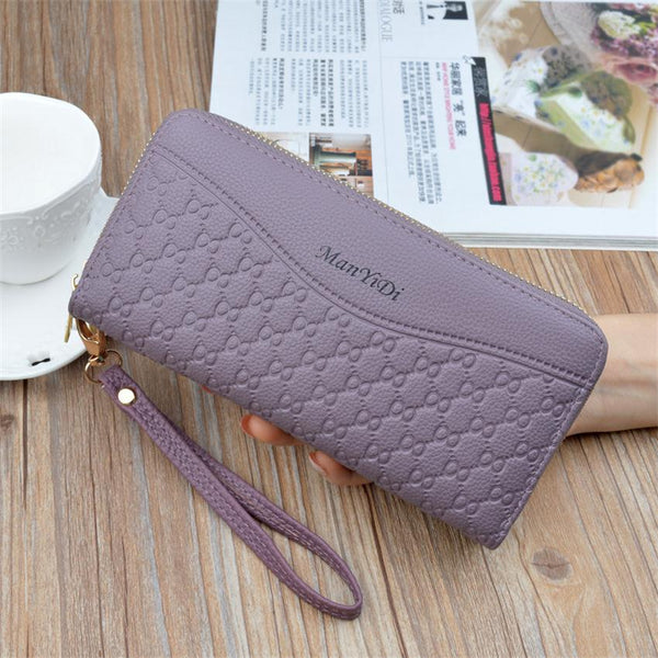 New Hot Sale Women Clutch Wallet Top Quality PU Leather