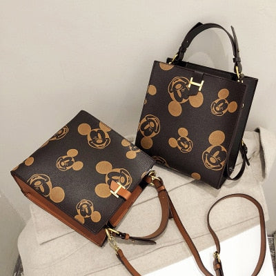 Disney Mickey mouse Women's bag PU Leather