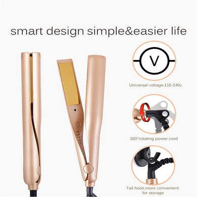 Straight hair stick curling stick multi-function roll hair straightener  three in one hair straightener hair iron hair curler