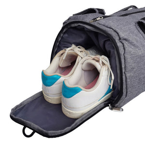 ABDB-Waterproof Sport Bags Men Large Gym Bag with Shoe Compartment Women Yoga Fitness Bag Outdoor Travel Hand Luggage Bag