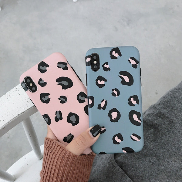 Lovebay Leopard Print Phone Case Cover For Iphone XS Max XR X 8 7 6 6S Plus 11 Pro Luxury Soft Back Cases Colorful Fashion Shell
