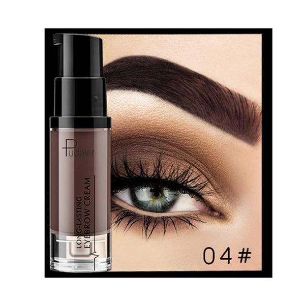 Pudaier Long-lasting Eyebrow Cream Natural Liuqid Eyebrow Gel