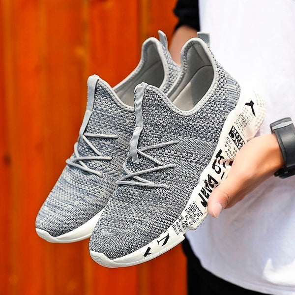 2019 New Fashion Breathable Shoes Men Casual Men Shoes Mesh Woven Sneakers Men Camouflage Outdoor Footwear For Male