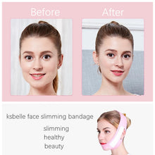Load image into Gallery viewer, Face Slim V-Line Lift Up Mask Cheek Chin Neck Slimming Thin Belt Strap Beauty Delicate Facial Thin Face Mask Slimming Bandage