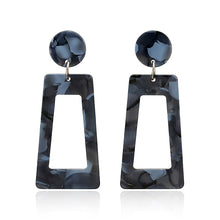 Load image into Gallery viewer, Round Large Long Acrylic Acetate Drop Earrings For Women