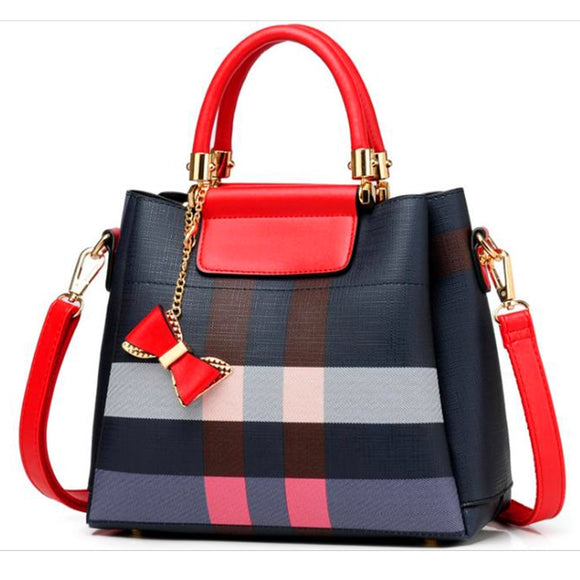 2019 New stripe Women's Handbag for Vintage Handbag Female Crossbody bags fashion Women Shoulder bag Crossbody Messenger bag