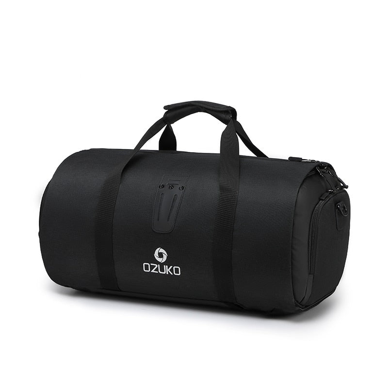 OZUKO Multifunction Large Capacity Men Travel Bag