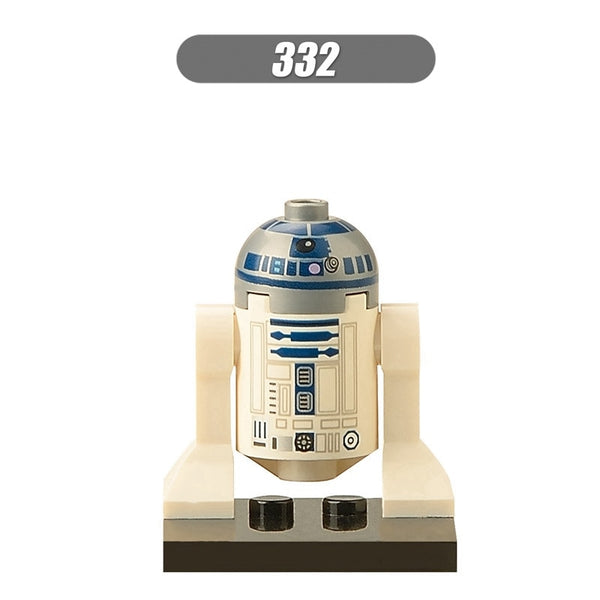 Wars For Legoing Star Plan K-2SO C-3PO Robot R2D2 BB8 BOBA Darth Vader 42pcs Jabba tauntaun Figure Building Blocks Toys Starplan