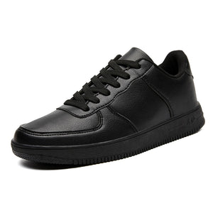 New Sneakers Leather Men Shoes