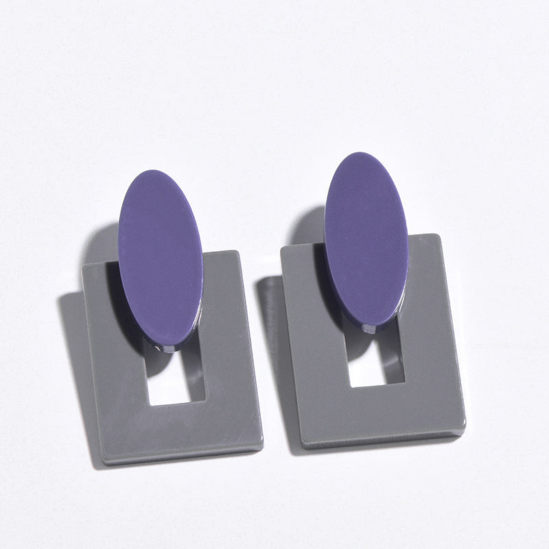 New Style Vintage Fashion Resin Earrings for Women