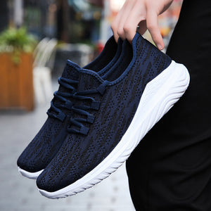 QZHSMY Shoes Men Breathable Elegant Sneakers Mesh Casual Shoes Men High Quality Free Shipping For Adult Man Comfortable Shoe Man