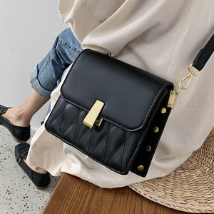 Small PU Leather Crossbody Bags For Women 2020 Fashion Quality Messenger Shoulder Bag Female Travel Handbags and Purses