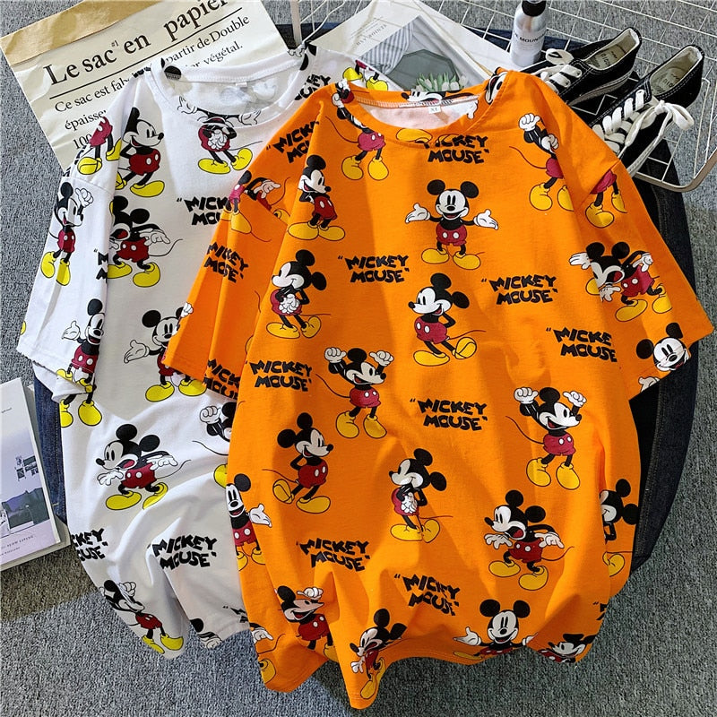 Disney Mickey Mouse short-sleeved fashion t-shirt