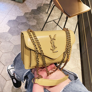 Small women's bag 2019 new fashion chain small square bag Korean shoulder bag wild messenger high-quality female bag