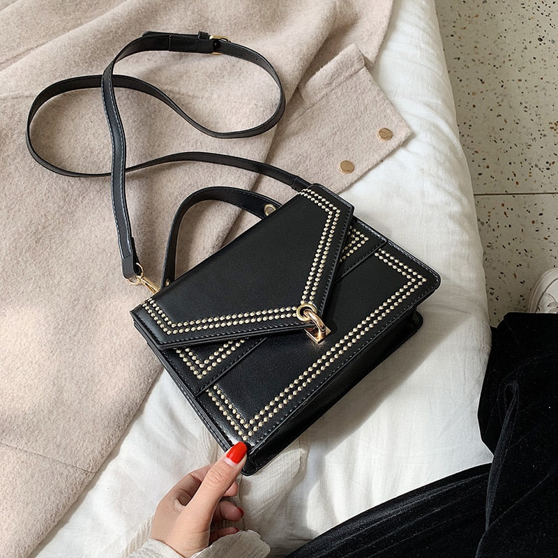 Small PU Leather Crossbody Bags For Women