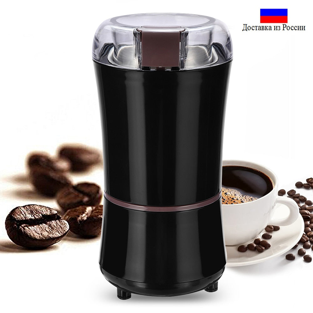 Kitchen Electric Coffee Grinder 400W Mini Salt Pepper Grinder Powerful Spice Nuts Seeds Coffee Bean Grind Machine