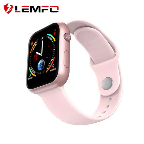 Sports Tracker Women Heart Rate Fitness Monitor Weather Forecast Smart Watch