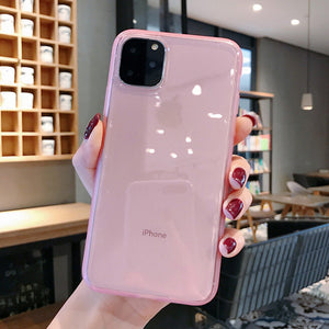 Lovebay Transparent Shockproof Frame Phone Case For iPhone
