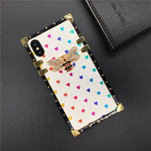Load image into Gallery viewer, Heart Bee Cover Square Case for Samsung Galaxy