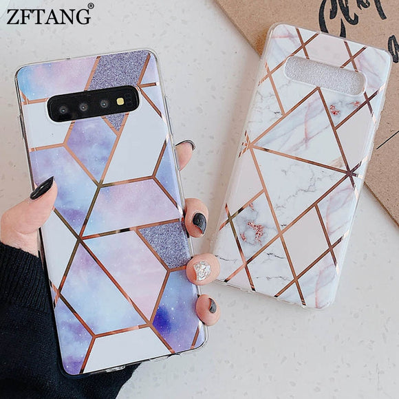Marble Phone Case For Samsung Glaxy