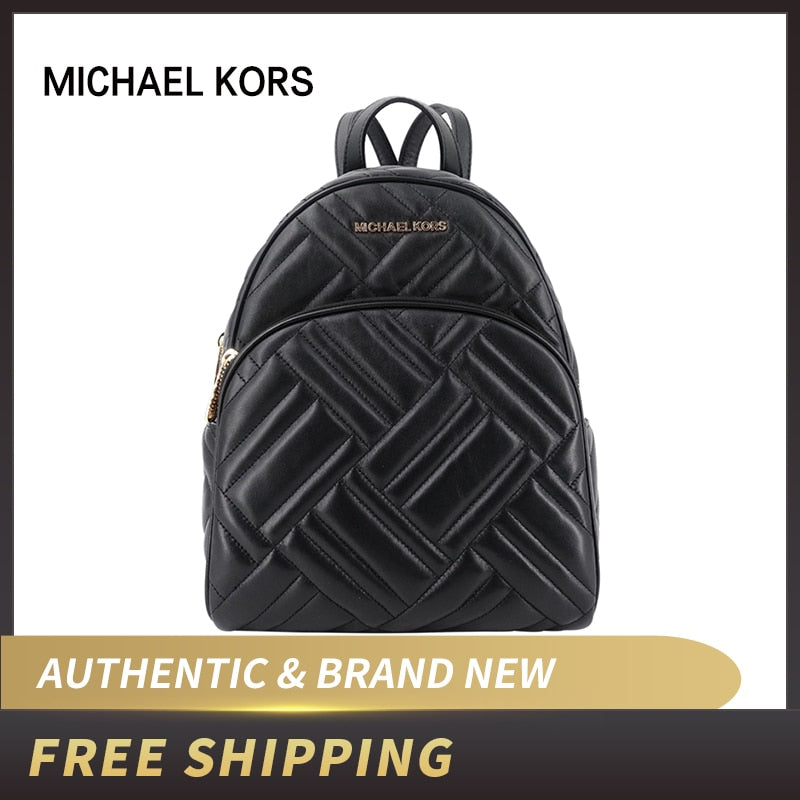 Michael Kors Leather Backpacks