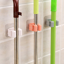 Load image into Gallery viewer, Mop Rack Bathroom accessories Wall Mounted