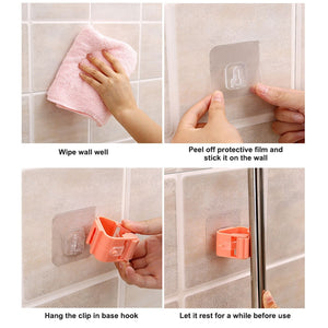 Mop Rack Bathroom accessories Wall Mounted